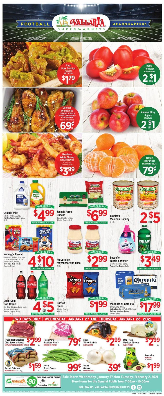 Vallarta Weekly Ad Circular - valid 01/27-02/02/2021