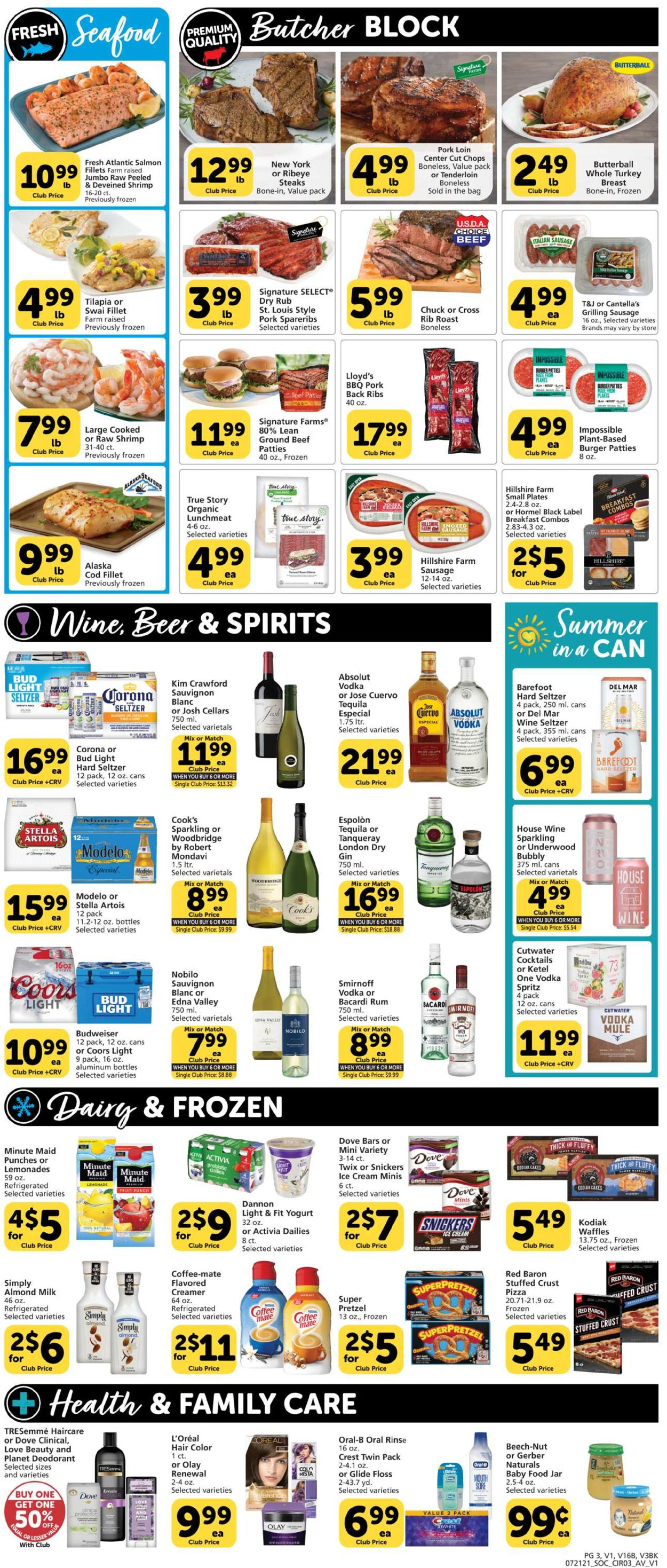 Vons Weekly Ad Circular - valid 07/21-07/28/2021 (Page 3)