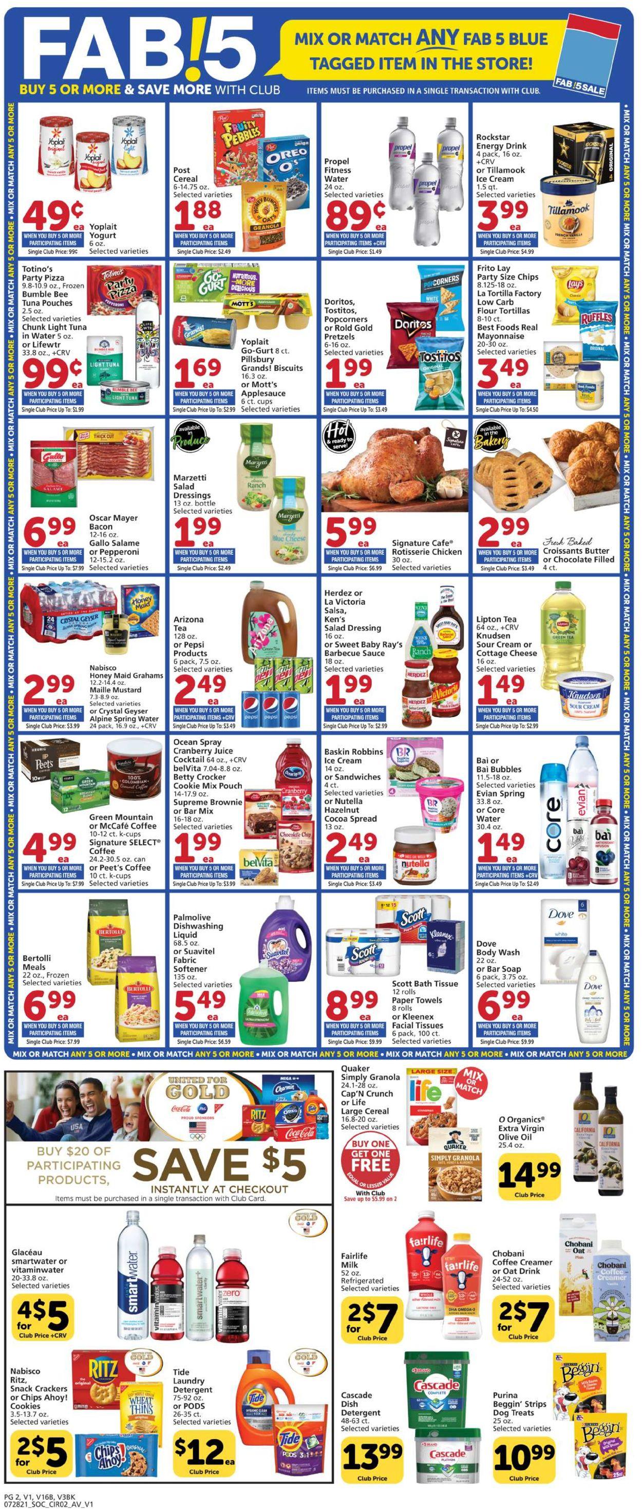 Vons Weekly Ad Circular - valid 07/28-08/04/2021 (Page 2)