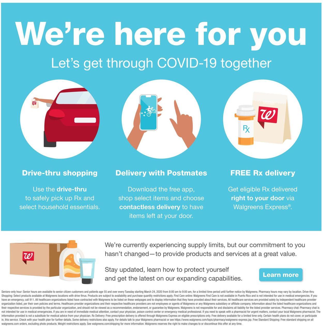 Walgreens Weekly Ad Circular - valid 04/12-04/18/2020