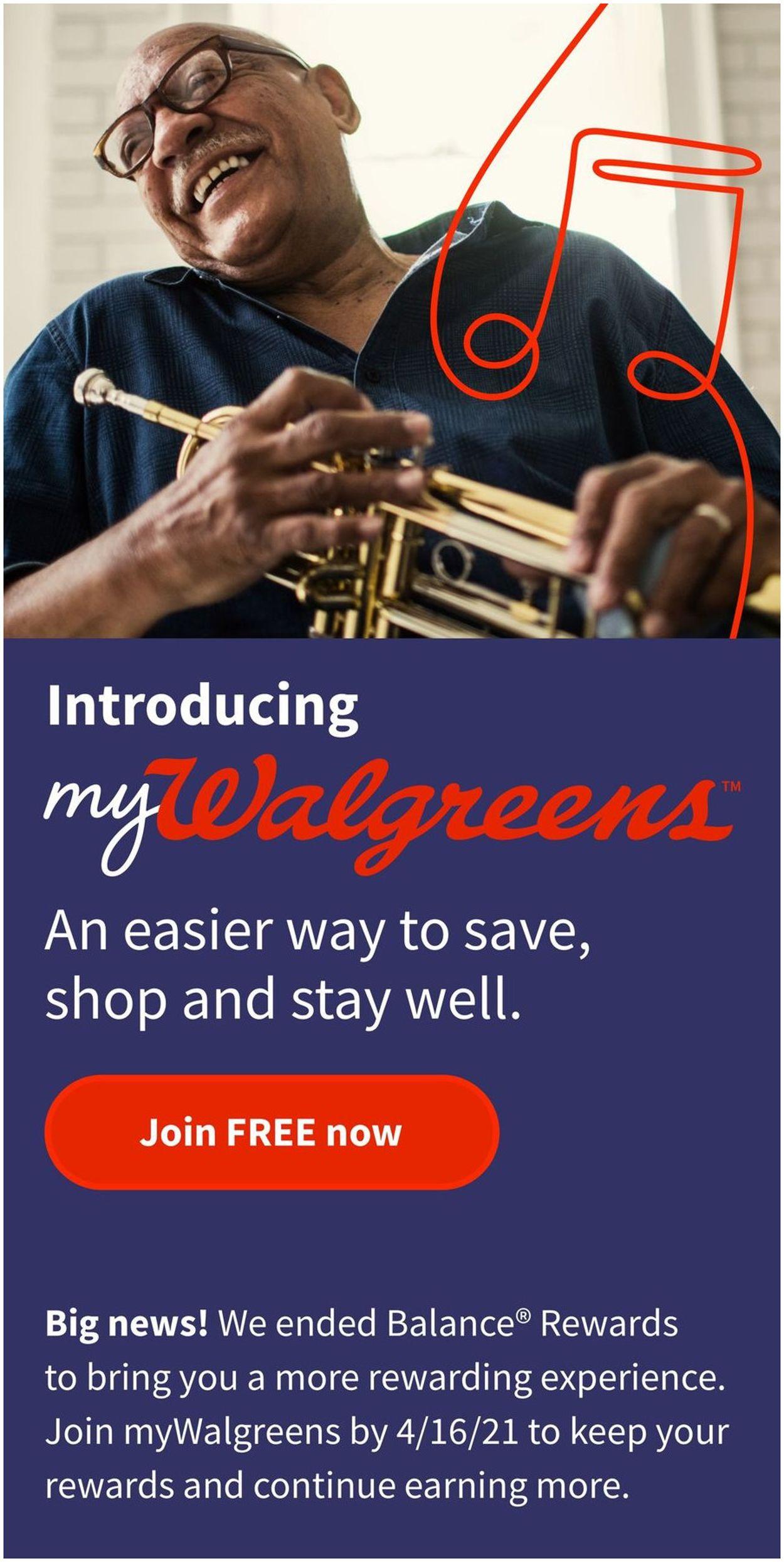 Walgreens Weekly Ad Circular - valid 02/14-02/20/2021
