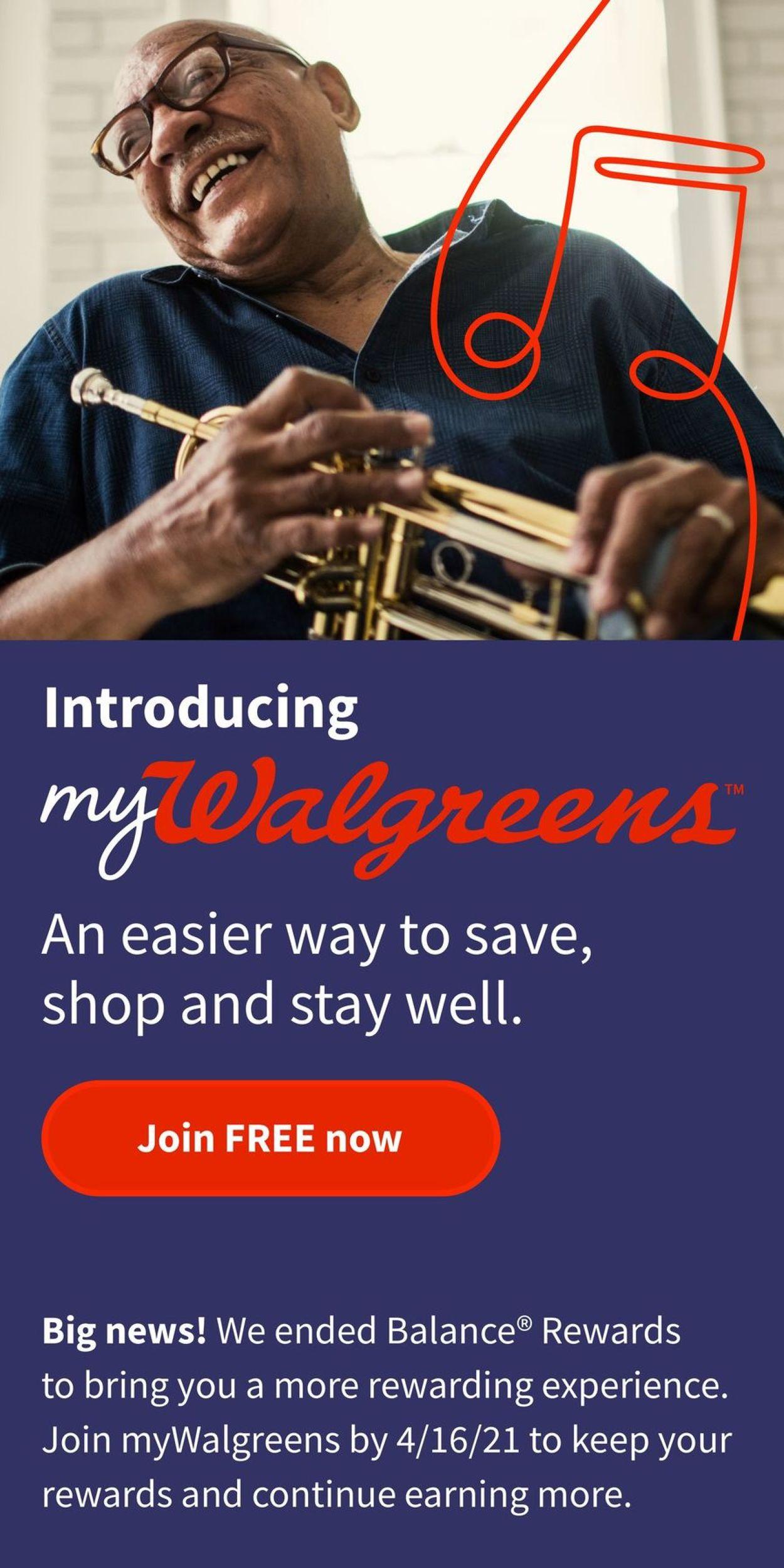 Walgreens Weekly Ad Circular - valid 03/07-03/13/2021