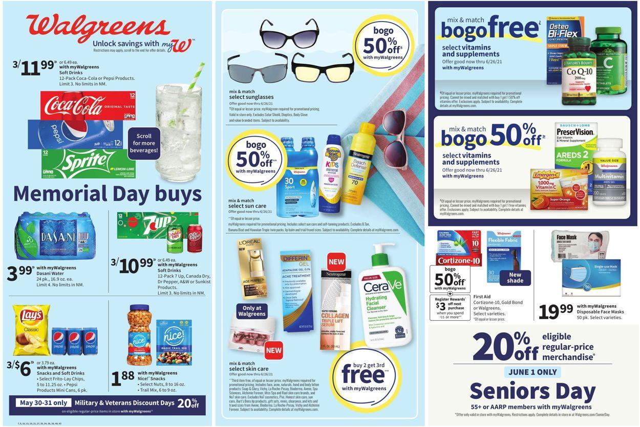 Walgreens Weekly Ad Circular - valid 05/30-06/05/2021
