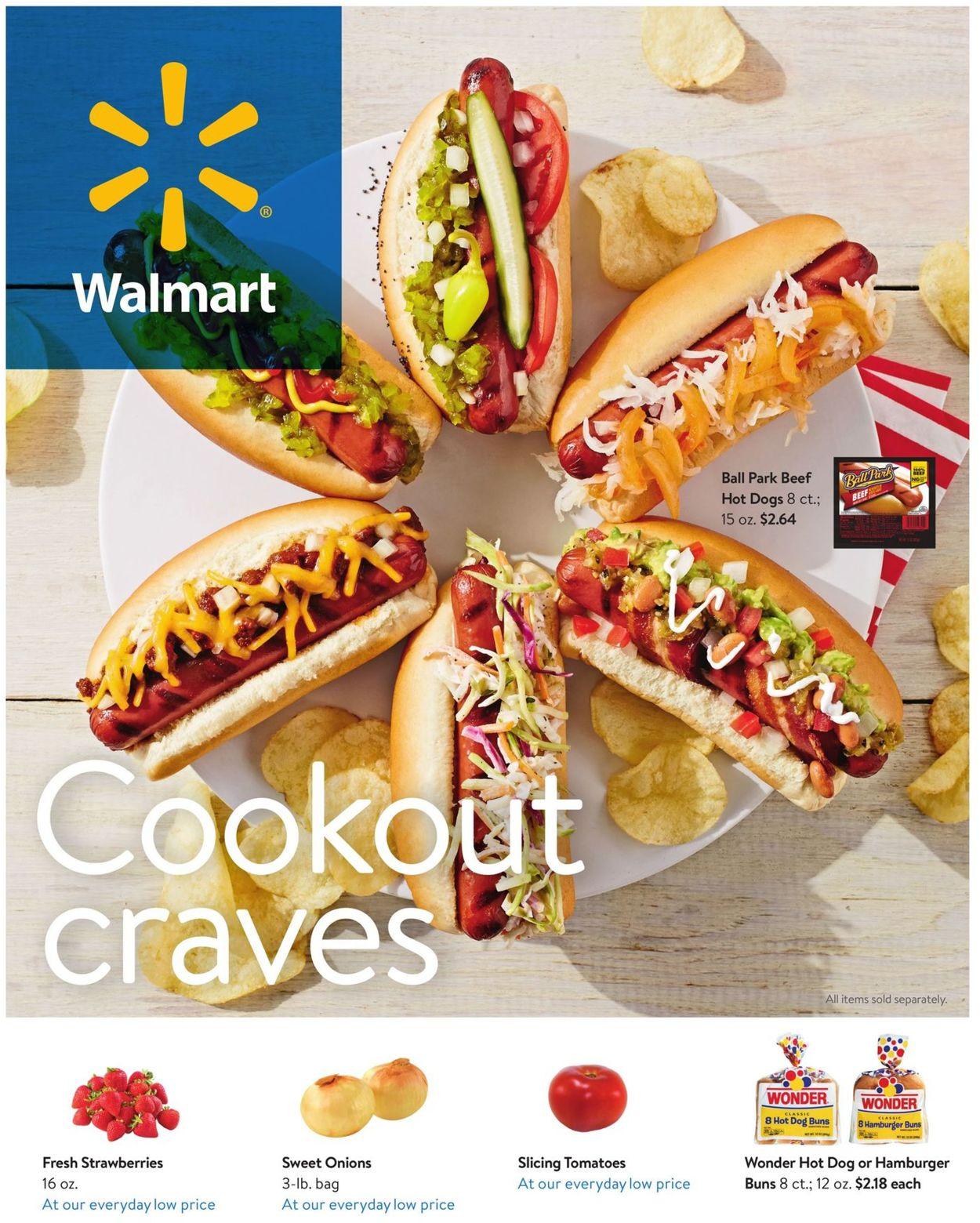 Walmart Weekly Ad Circular - valid 05/22-06/23/2020