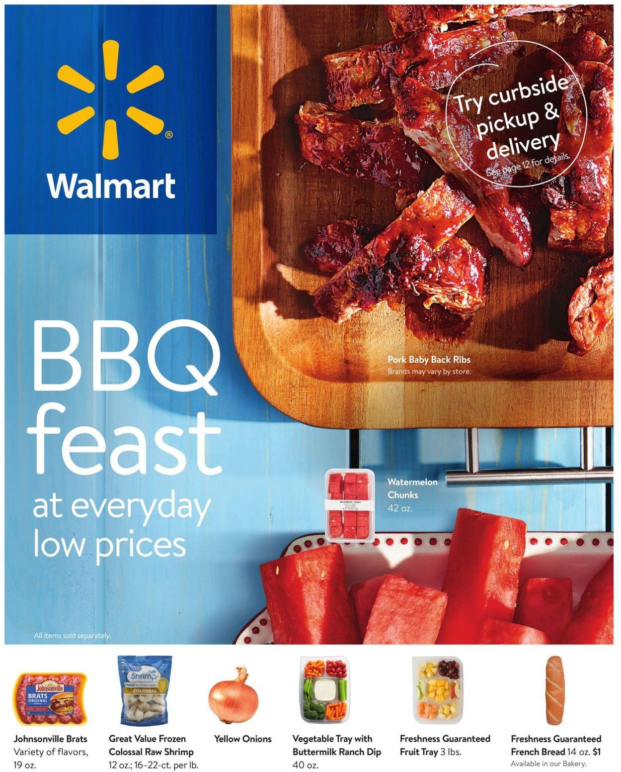 Walmart Weekly Ad Circular - valid 06/24-07/28/2020