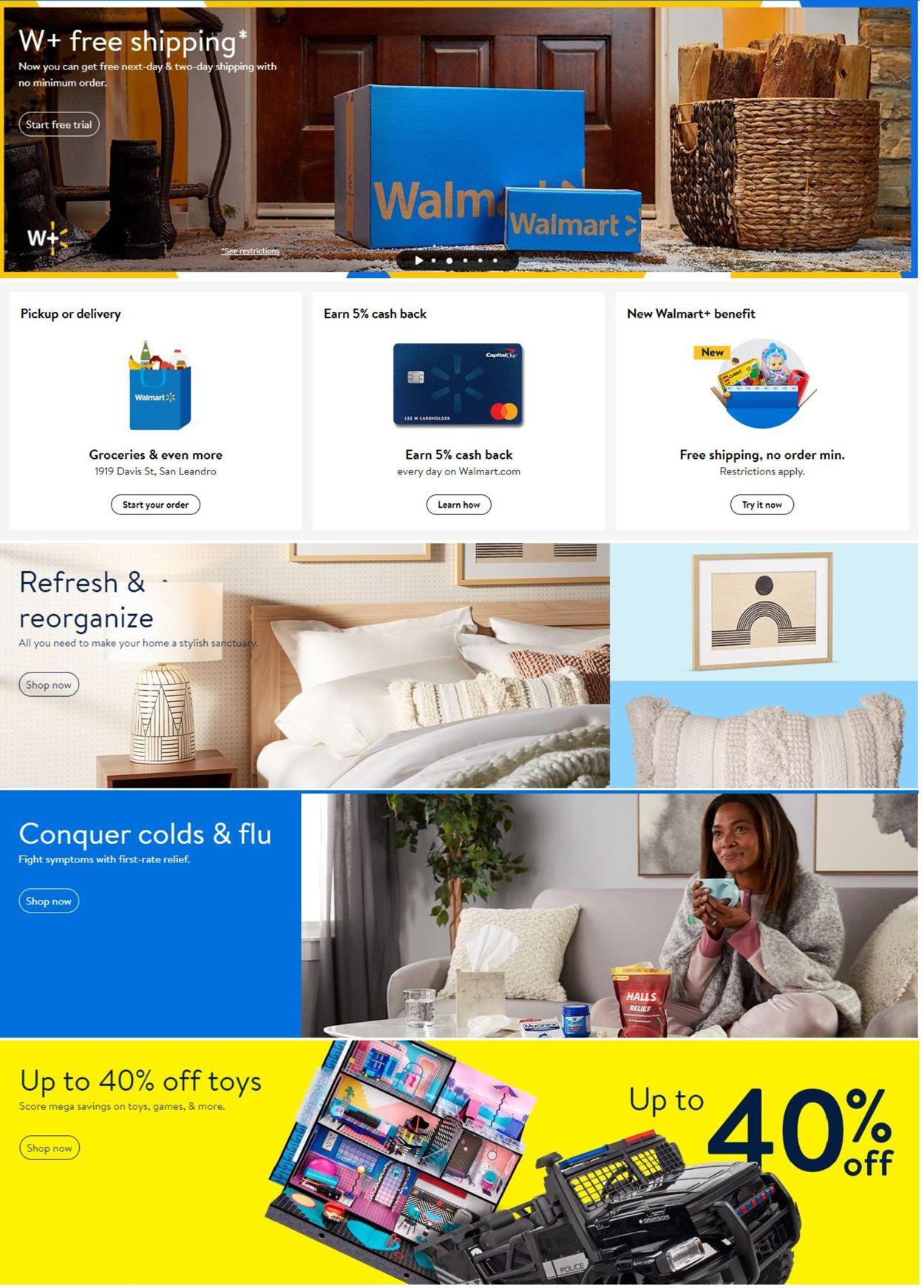 Walmart Weekly Ad Circular - valid 01/06-01/12/2021