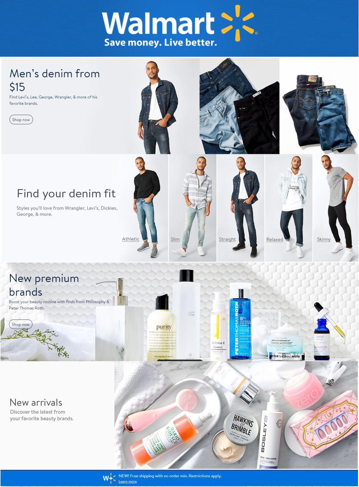 Walmart Weekly Ad Circular - valid 01/20-01/26/2021