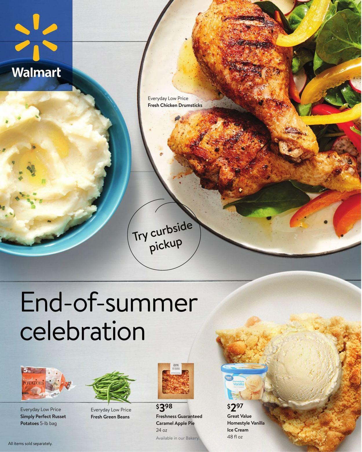 Walmart Weekly Ad Circular - valid 07/28-08/31/2021