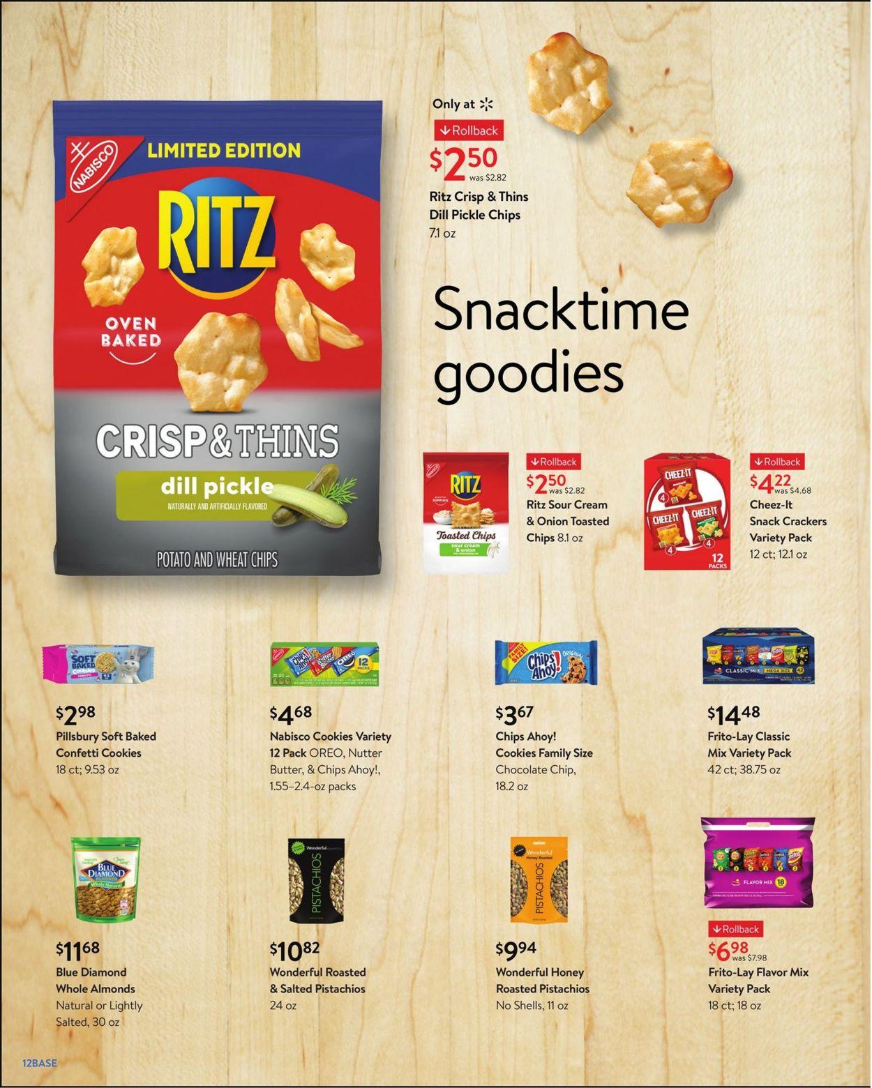 Walmart Weekly Ad Circular - valid 07/28-08/31/2021 (Page 12)