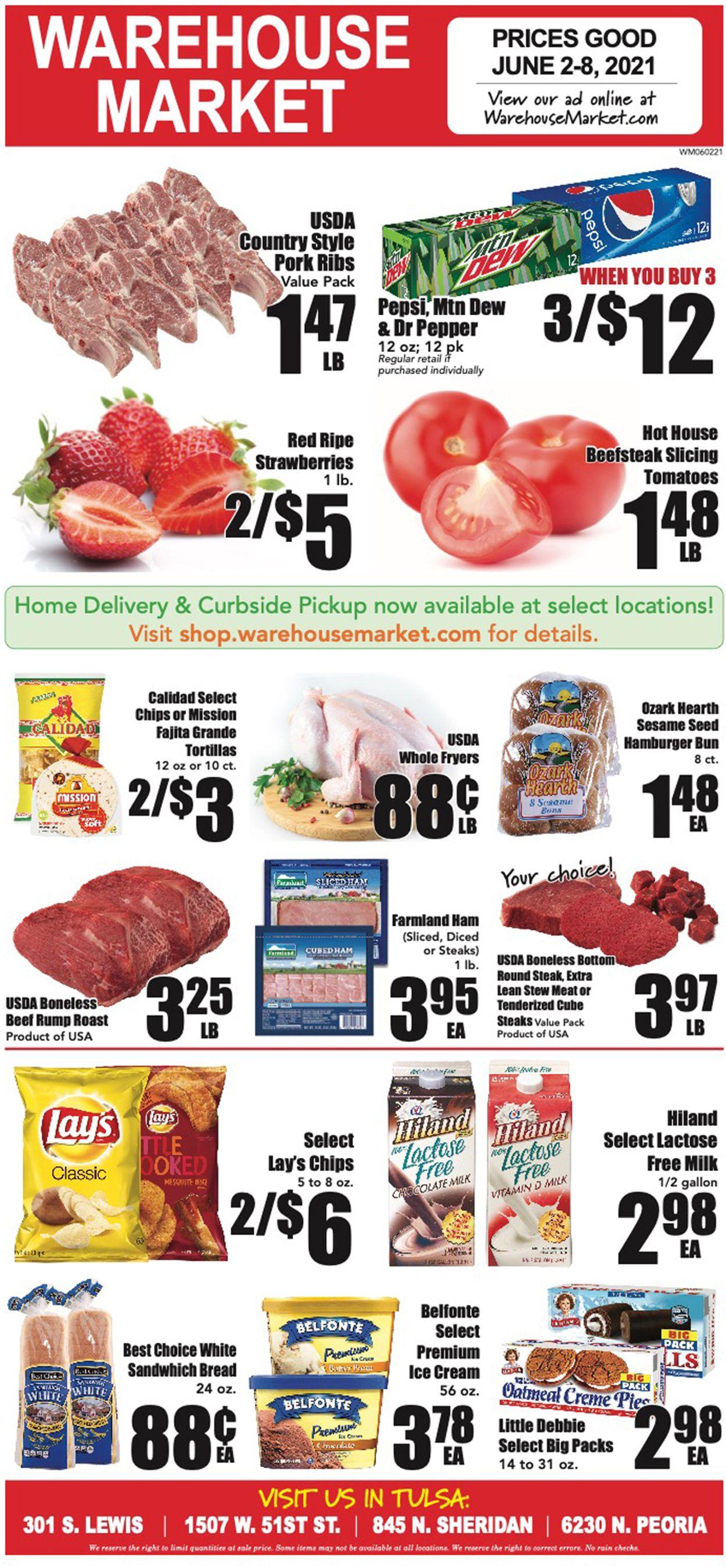 Warehouse Market Weekly Ad Circular - valid 06/02-06/08/2021
