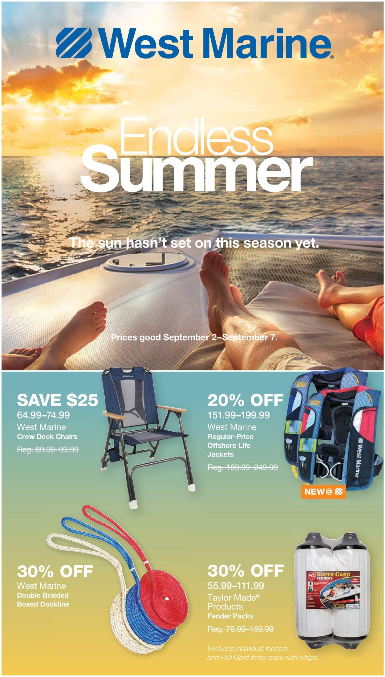West Marine Weekly Ad Circular - valid 09/02-09/07/2020