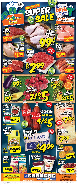 Western Beef Weekly Ad Circular - valid 01/13-01/19/2021