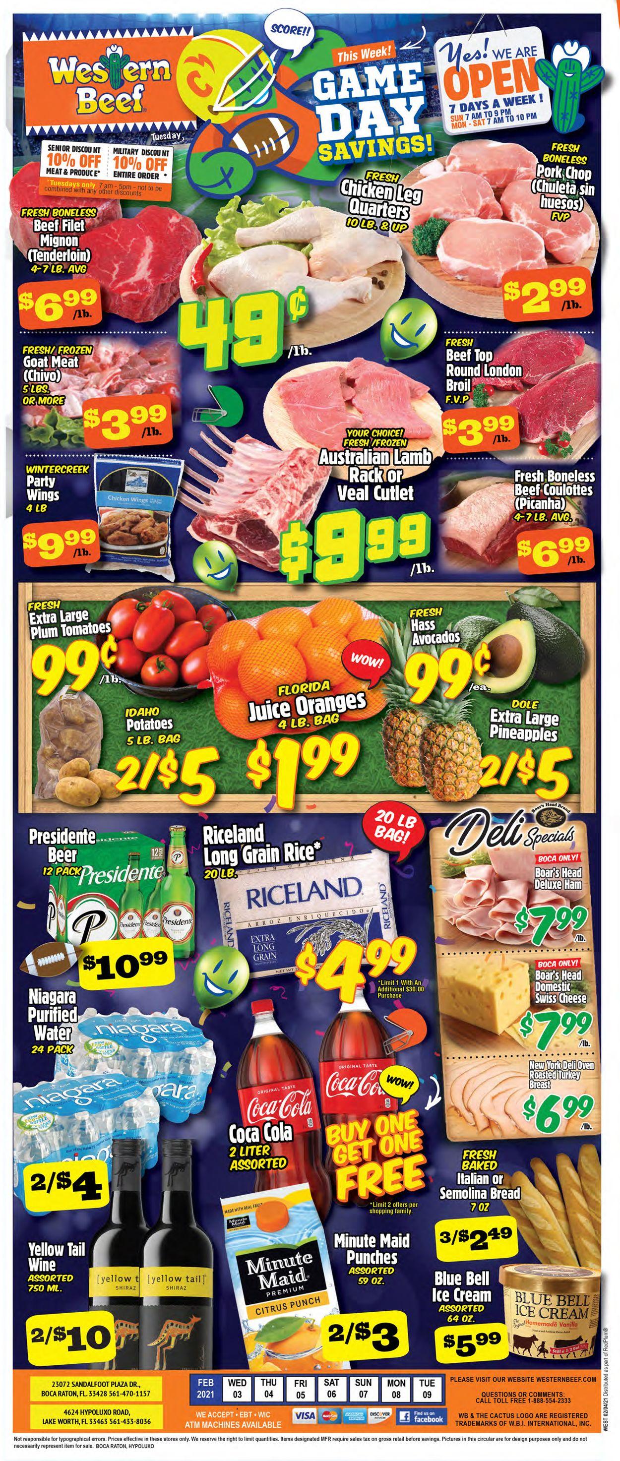 Western Beef Weekly Ad Circular - valid 02/03-02/09/2021