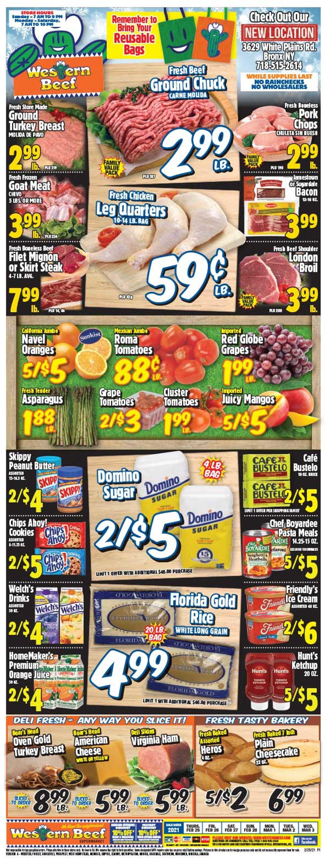 Western Beef Weekly Ad Circular - valid 02/25-03/03/2021