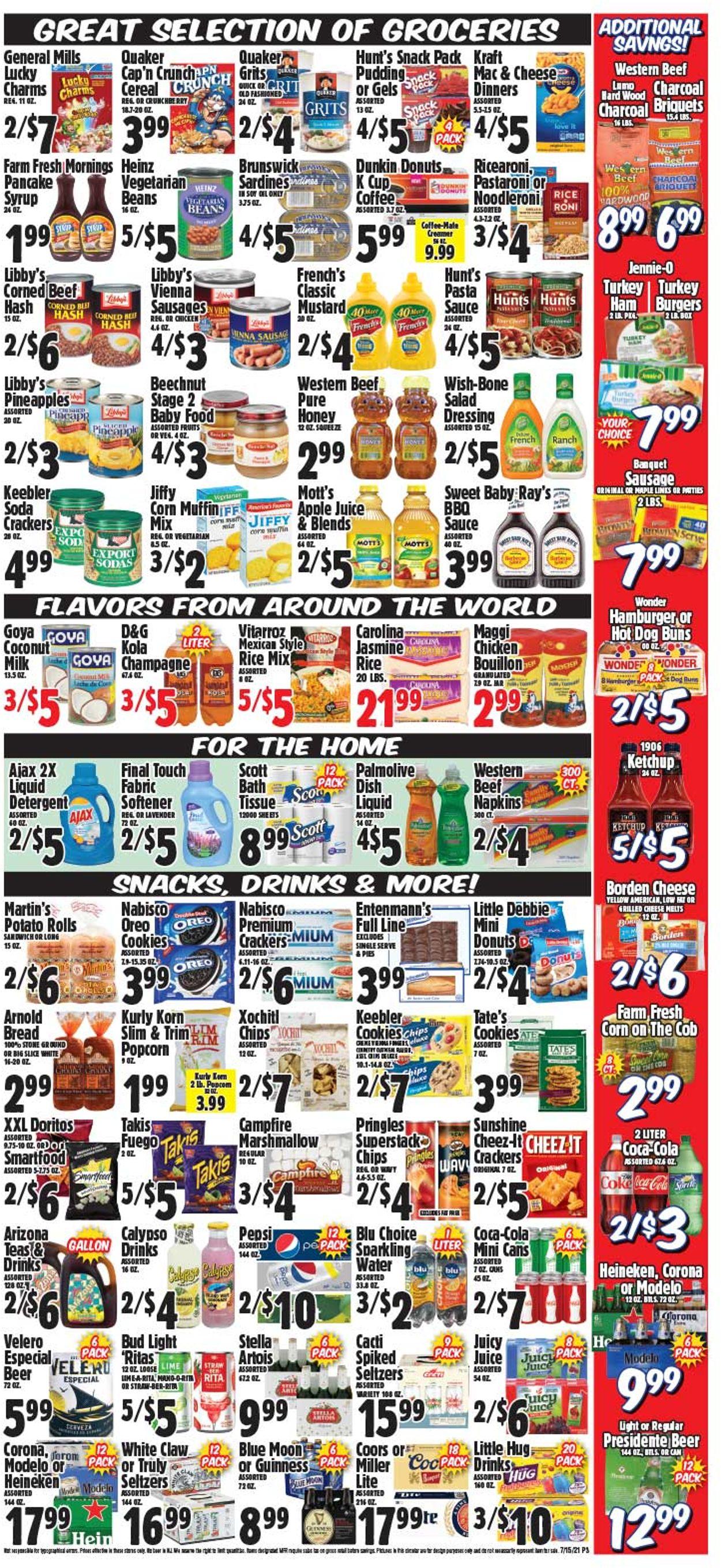 Western Beef Weekly Ad Circular - valid 07/15-07/21/2021 (Page 4)