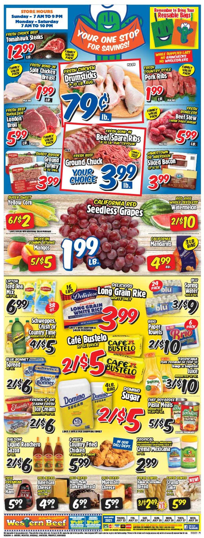 Western Beef Weekly Ad Circular - valid 07/22-07/28/2021