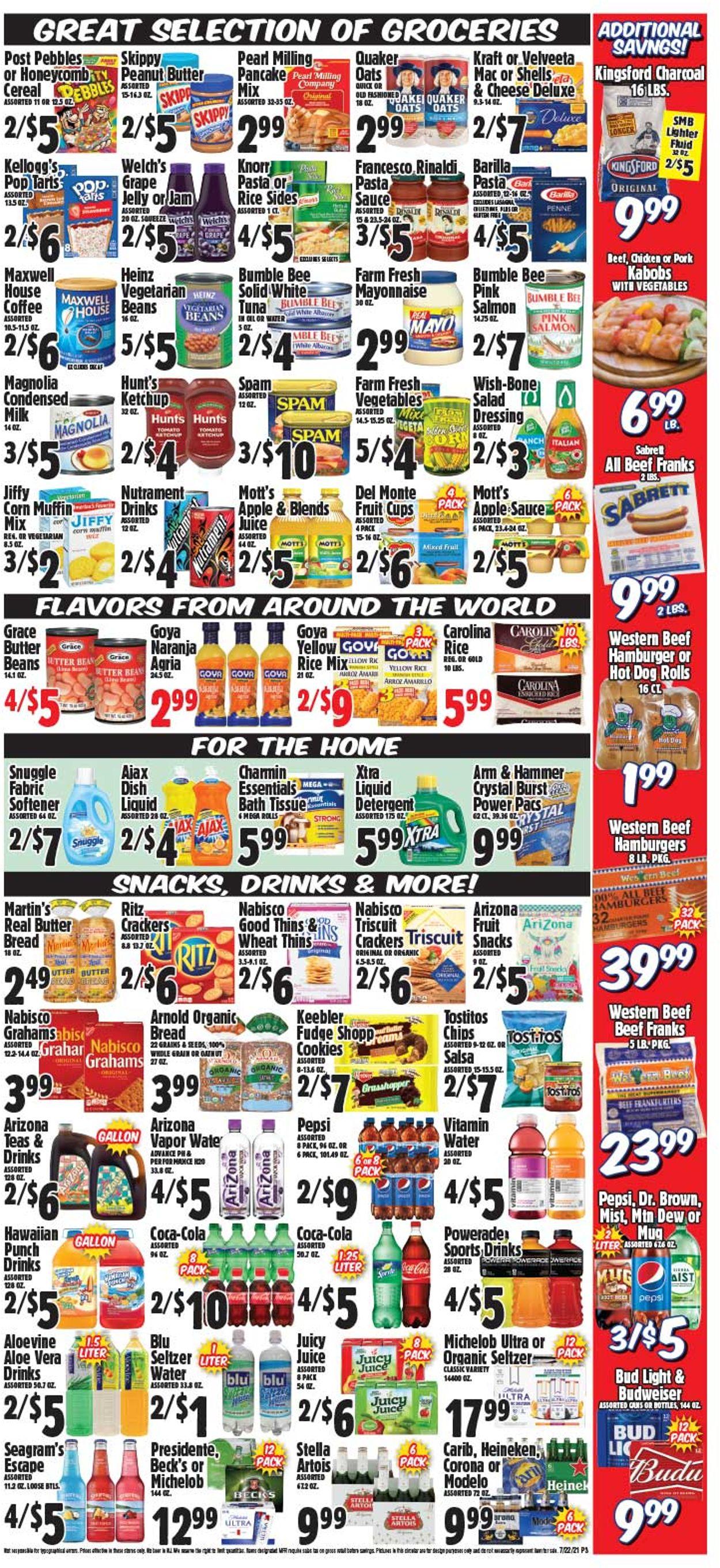 Western Beef Weekly Ad Circular - valid 07/22-07/28/2021 (Page 4)