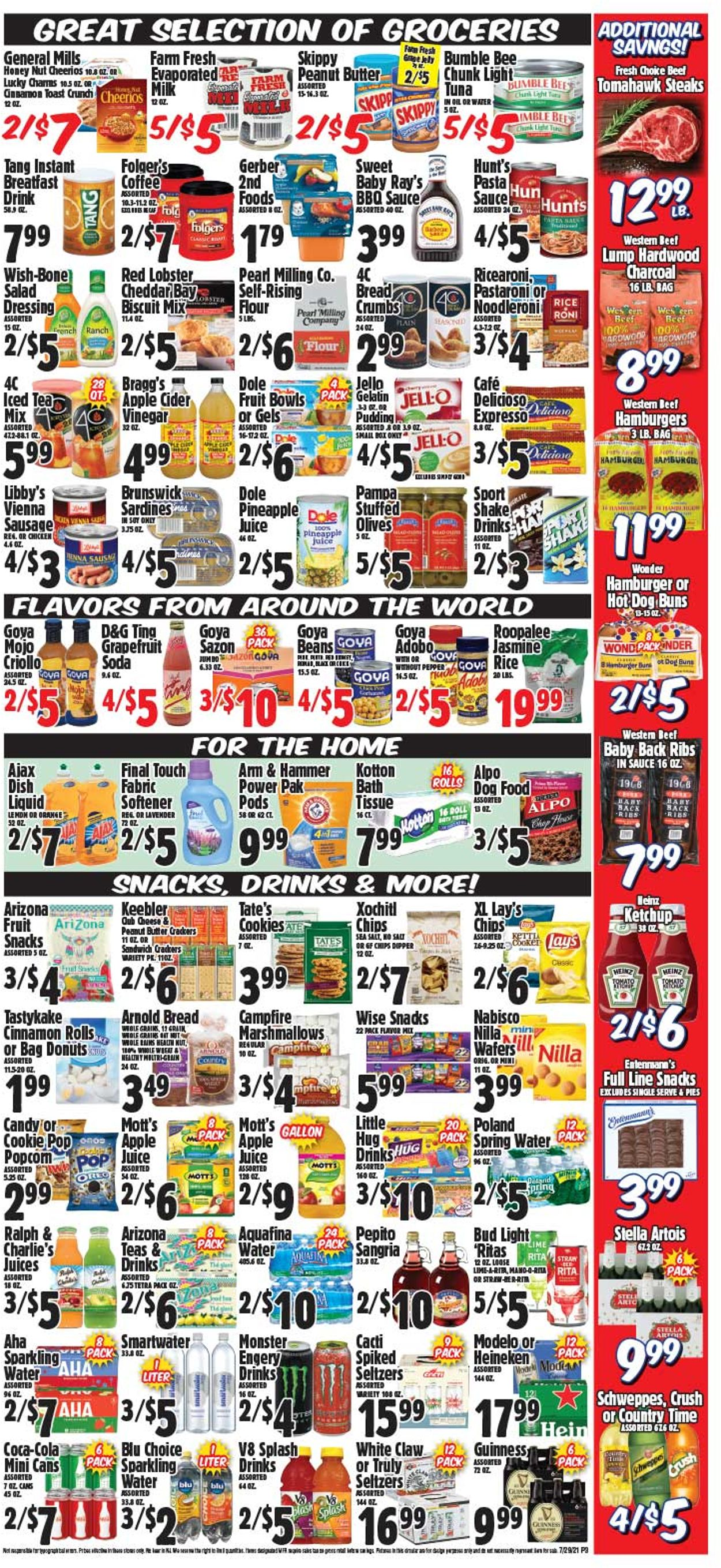 Western Beef Weekly Ad Circular - valid 07/29-08/04/2021 (Page 4)