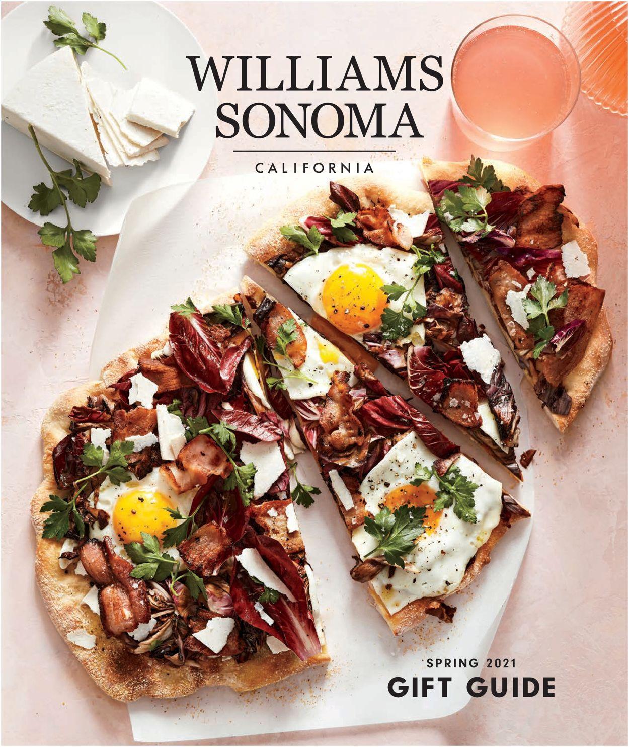 Williams-Sonoma Weekly Ad Circular - valid 04/27-06/30/2021