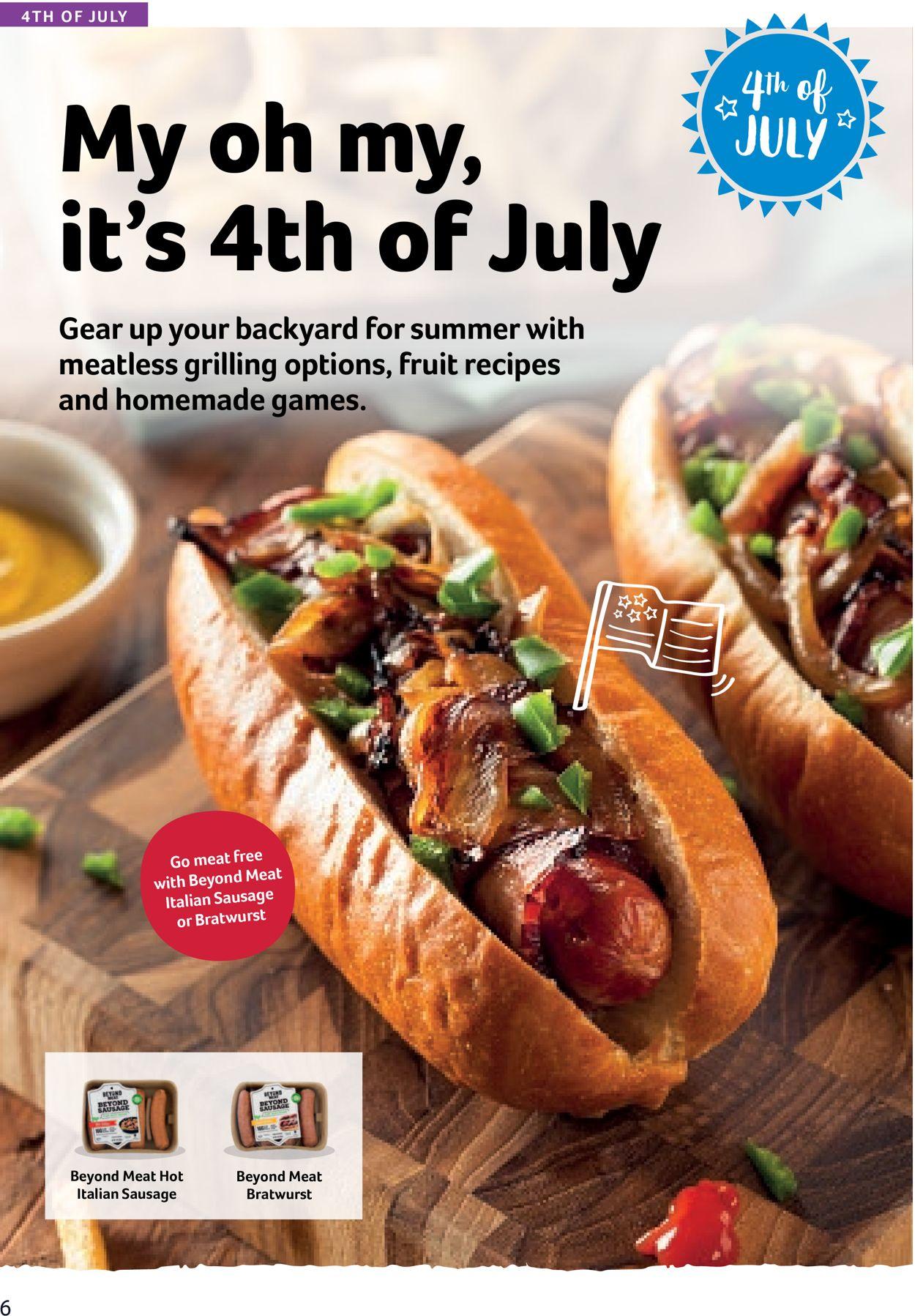 Winn Dixie Weekly Ad Circular - valid 06/10-07/07/2020 (Page 6)