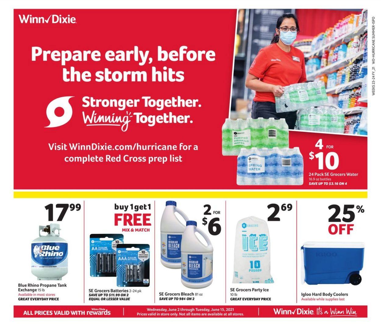 Winn Dixie Weekly Ad Circular - valid 06/02-06/15/2021