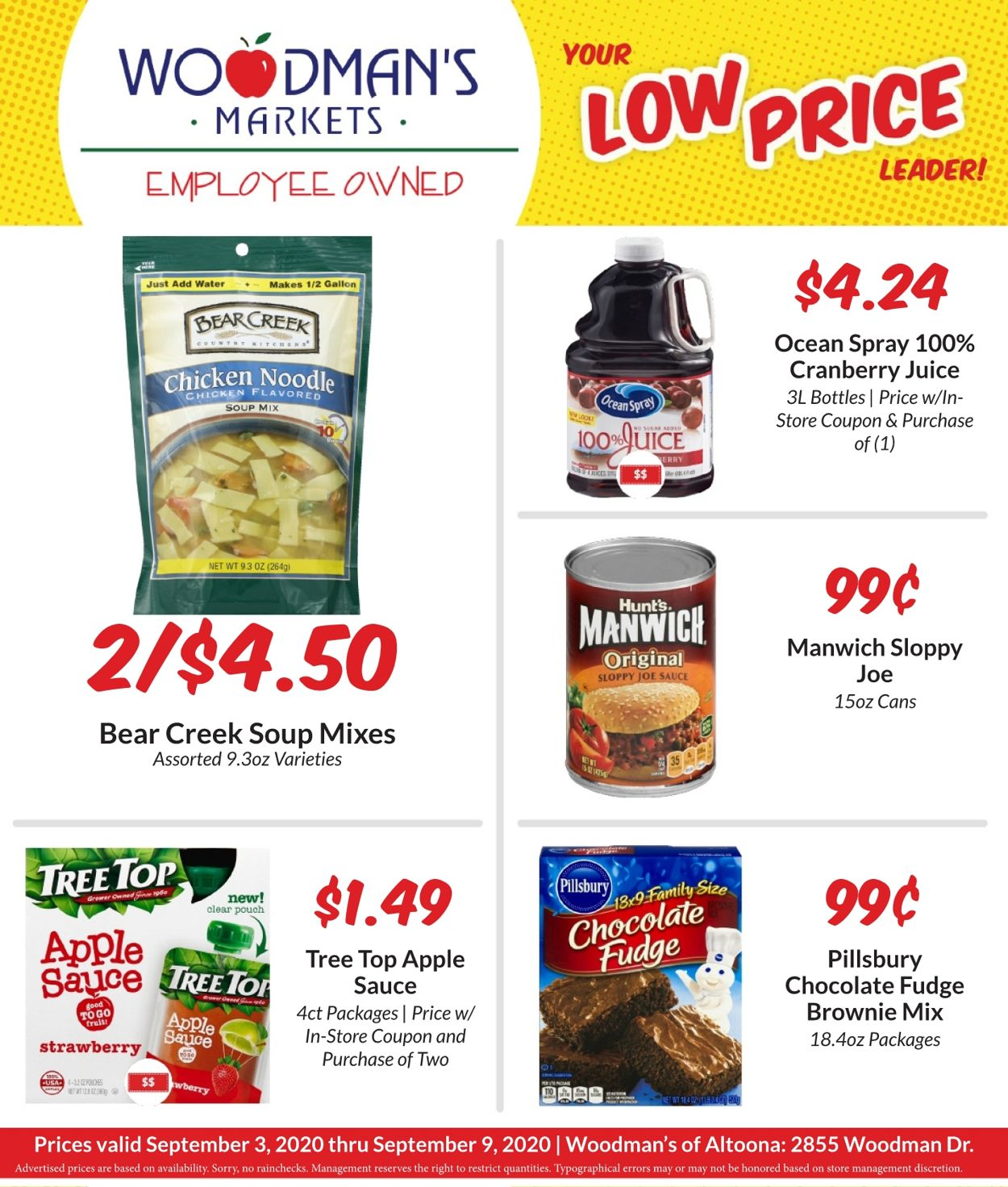 Woodman's Market Weekly Ad Circular - valid 09/03-09/09/2020