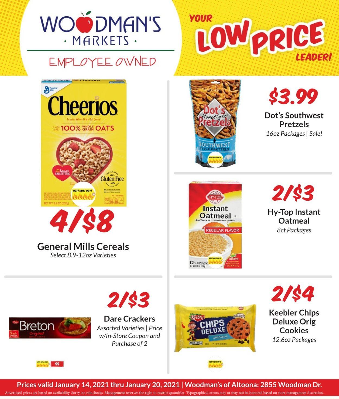 Woodman's Market Weekly Ad Circular - valid 01/14-01/20/2021