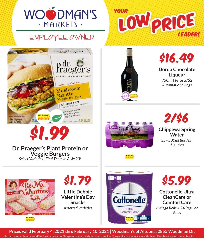 Woodman's Market Weekly Ad Circular - valid 02/04-02/10/2021