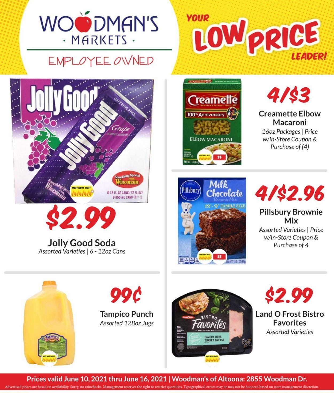 Woodman's Market Weekly Ad Circular - valid 06/10-06/16/2021