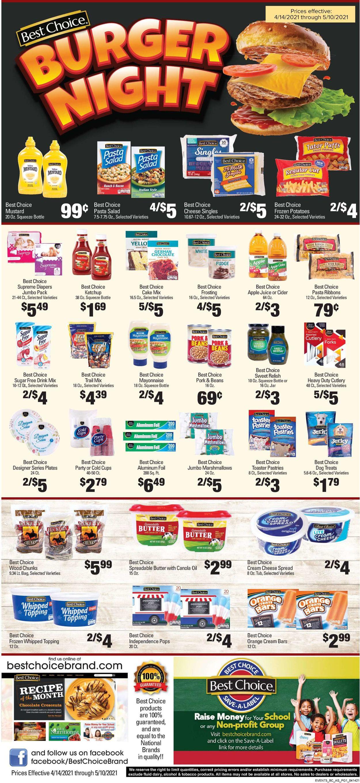 Woods Supermarket Weekly Ad Circular - valid 04/14-05/10/2021