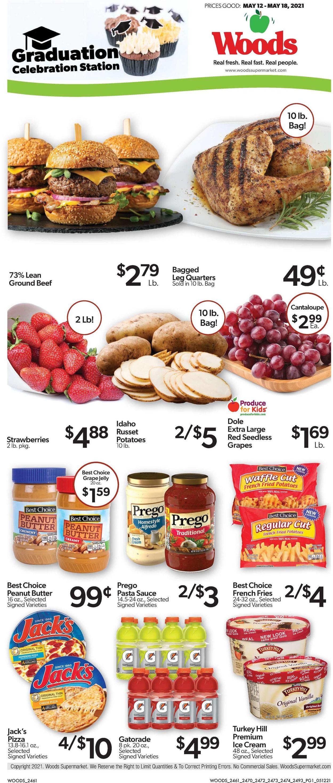 Woods Supermarket Weekly Ad Circular - valid 05/12-05/18/2021