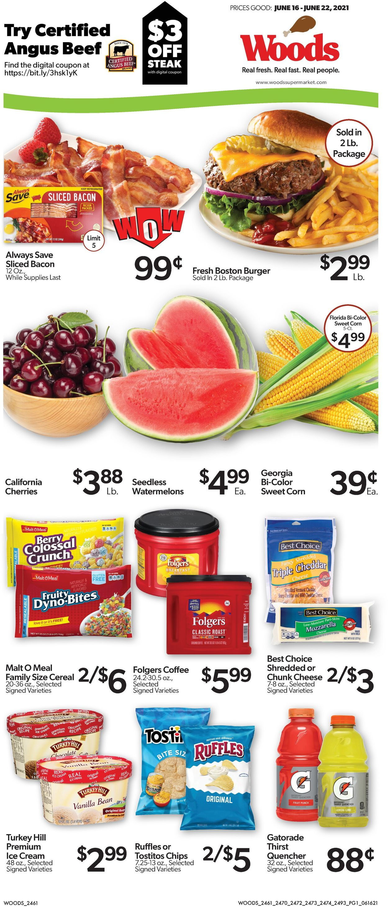 Woods Supermarket Weekly Ad Circular - valid 06/16-06/22/2021