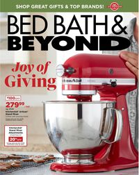 Bed Bath and Beyond - Holiday Ad 2019