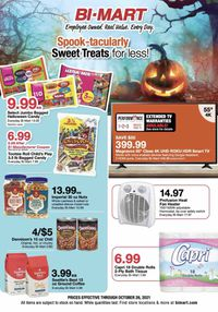 Bi-Mart Halloween 2021