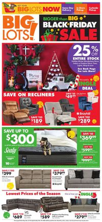 Big Lots Black Friday Sale 2020