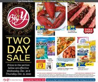 Big Y Two Day Sale