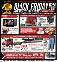 Cabela's Black Friday ad 2020