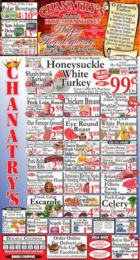 Chanatry's Hometown Market Thanksgiving 2020