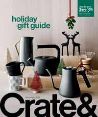 Crate & Barrel - Holidays Ad 2019