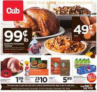 Cub Foods Thanksgiving 2020