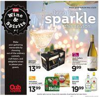 Cub Foods Liquor 2020
