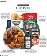 Cub Foods Holiday 2021
