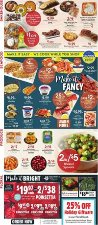 Dierbergs Thanksgiving ad 2020