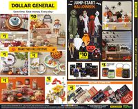 Dollar General Halloween 2021
