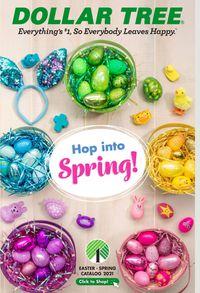 Dollar Tree Easter - Spring Catalog 2021