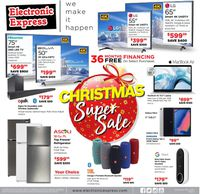 Electronic Express Christmas Super Sale 2020