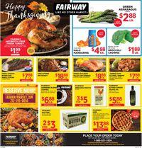 Fairway Market - Thanksgiving 2020