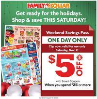 Family Dollar Holiday 2020