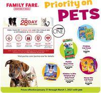 Family Fare Pets 2021