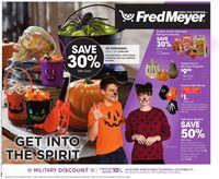 Fred Meyer Halloween 2021